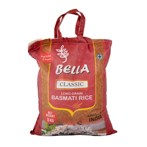 Bella Basmati Rice Classic 5kg