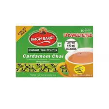 Wagh Bakri Unsweetened Cardamom Instant Tea Premix 140g