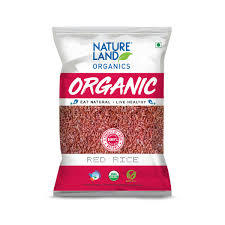 Organic Red Rice 1kg