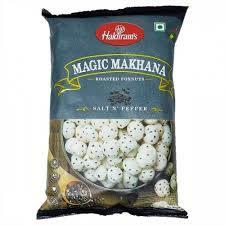Haldirams Roasted Fox Nuts Salt N Pepper 30g