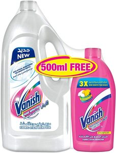 Vanish Stain Remover White + Pink 1.8L+500ml