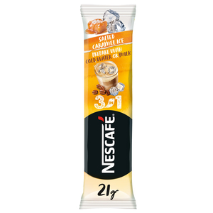 Nescafe 3 In 1 Salted Caramel Ice Coffee Instant Mix Sachet 21g