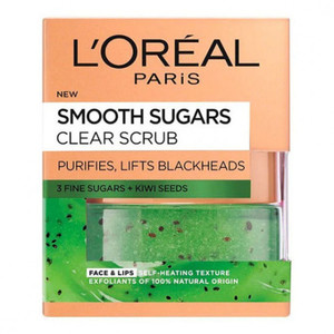 L'Oreal Smooth Sugar Scrub Clearing 50ml