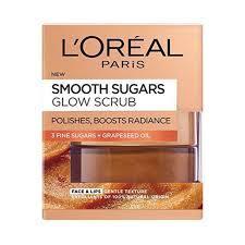 L'Oreal Smooth Sugar Scrub Glow 50ml