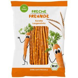 Freche Freunde Bio Organic Spelt And Carrot Pretzel Sticks 75g