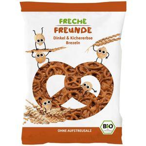 Freche Freunde Organic Spelt And Chickpea Pretzels 75g