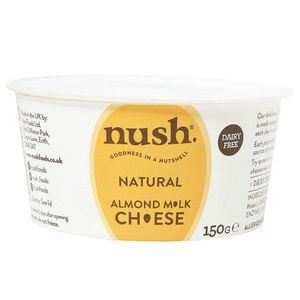 Nush Natural Almond Milk Cheese Spread Dairy Free 150g