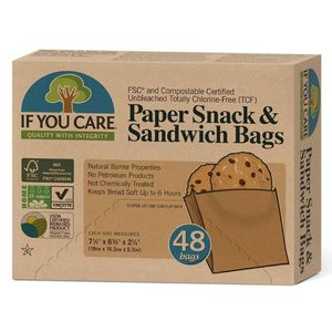 If You Care Paper Snack & Sandwich Bags 48pcs