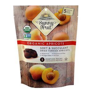 Sunny Fruit Organic Dried Turkish Apricots Gmo Free Gluten Free Nut Free No Added Sugar 250g