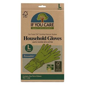 If You Care Household Gloves Large 2pcs