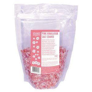 Dragon Superfoods Organic Pink Himalayan Salt Coarse 500g
