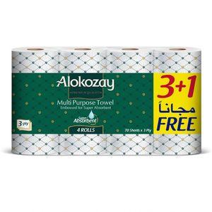 Alokozay Toilet Roll 4s
