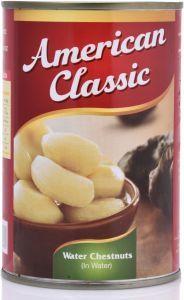 American Classic Water Chestnut 425g