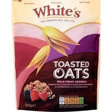 Whites Toasted Oats Wild Fruit Crunch 500g
