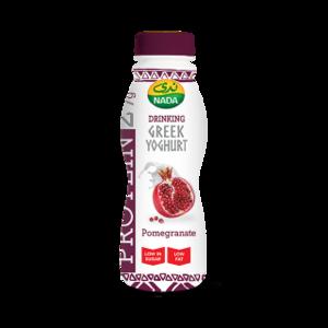 Nada Protein Greek Yoghurt Pomegranate Drink 330ml