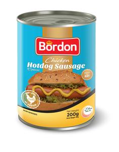 Bordon Hotdog Sausage 400g