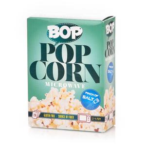 Bop Microwave Popcorn Salt 270g