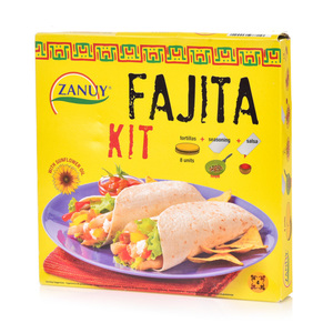 Zanuy Fajita Kit+Seasoning Salsa 490g