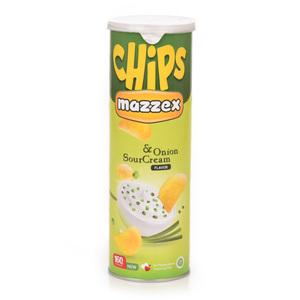 Mazzex Sour Cream Onion Flavour Chips 160g