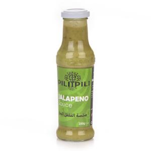 Pili Pili Jalapeno Pepper Sauce 250g