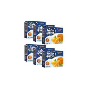 Foster Clark's Jelly Orange 6x85g
