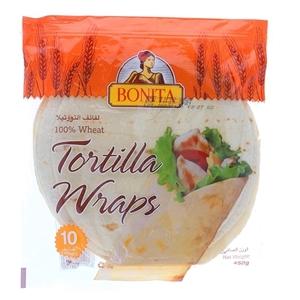 Bonita Tortilla Wraps 650g