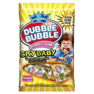 Dubble Bubble Cry Baby Sour 96g
