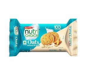 Britannia Nutri Choice Oat Choco Almond 75g