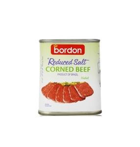 Corned Beef Reduced Salt Bordon 340g