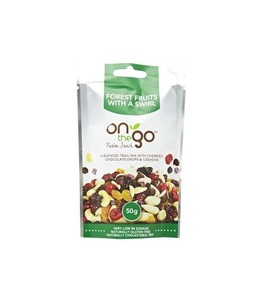 Mixed Nuts On The Go Fruit With Swirl 50g