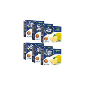 Foster Clark's Jelly Lemon 6x85g