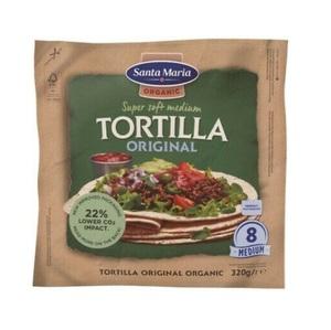 Santa Maria Organic Tortilla Original 320g