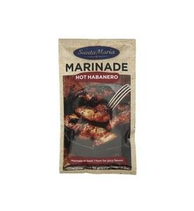 Santa Maria Marinade Hot Habanero 75g