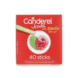 Canderel With Stevia Sticks 40s