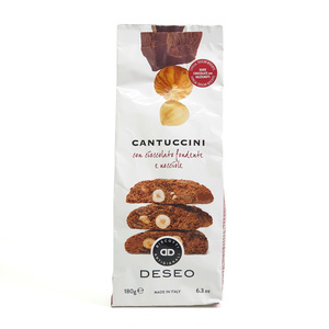 Cantuccini Chocolate-Hazelnut Bag 180g