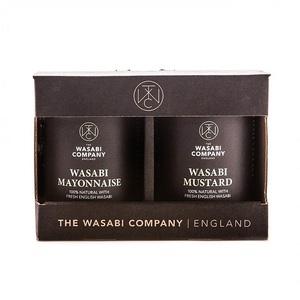 Wasabi Wasabi Company Mayo & Wasabi Mustard 350g