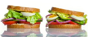 Salad Sandwich 1serving