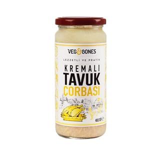 Chicken Cream Soup (Kremali Tavuk Corbasi) 480ml