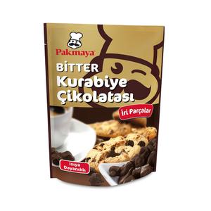 Pakmaya Cookie Bitter Chocolate Chips (Bitter Kurabiye Cikolatasi) 90g