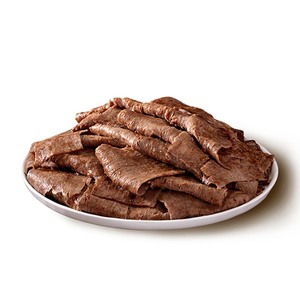 Frozen Cooked Sliced Minced Beef Shawarma (Donuk Pismis Dilimli Kiyma Et Doner) 500g
