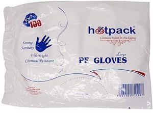 Hotpack Plastic Gloves 100pc