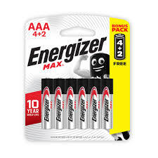 Energizer Max Power Seal Battery 6s