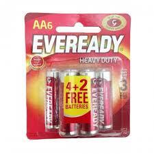 Evereday AA Super Heavy Duty 6pc