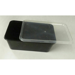 Co-Op  Disposable Plastic Container Square 5s