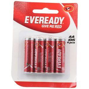 Evereday Red AA4 Heavy Duty  Battery 4pc