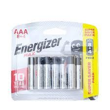 Energizer E92Bp12 Power Saver Aaa Battery 1pkt