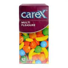 Carex Condoms Assorted Flavour 1pc