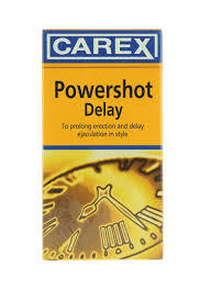 Carex Condoms Powershot Delay 1pc