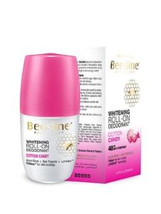 Beesline Whitening Roll On Deo Cotton Candy 50ml