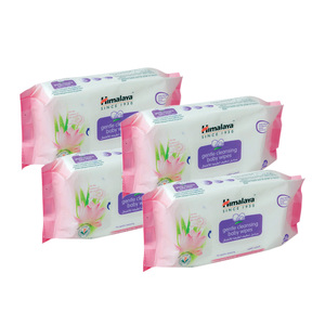 Himalaya Gentle Cleansing Baby Wipes 4x56s